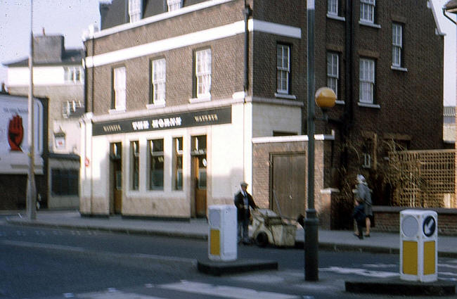 The Horns, 162 Grange Road - in March 1969