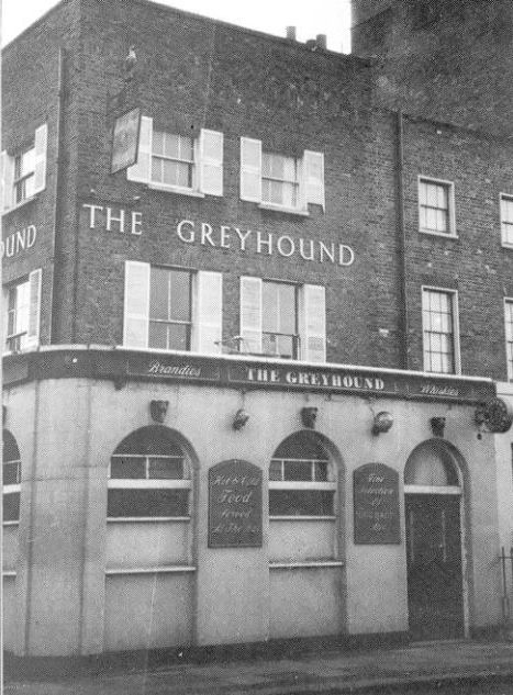 All The Girls Standing In The Line For The Bathroom: Greyhound, 32 Old Ford Road, Bethnal Green E2