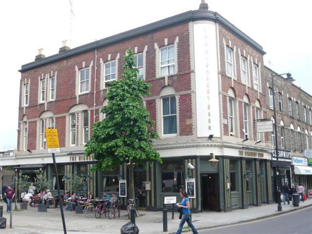 Highbury Barn Tavern 26 Highbury Park Islington N5