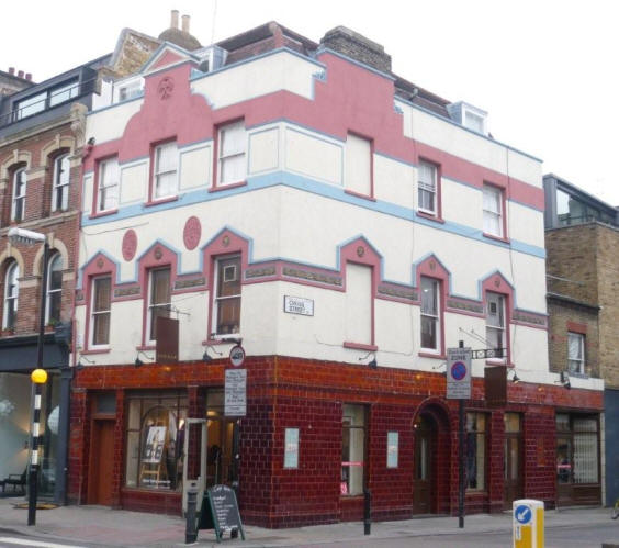 Old parrs head 66 cross street islington n1 for 66 st georges terrace post office