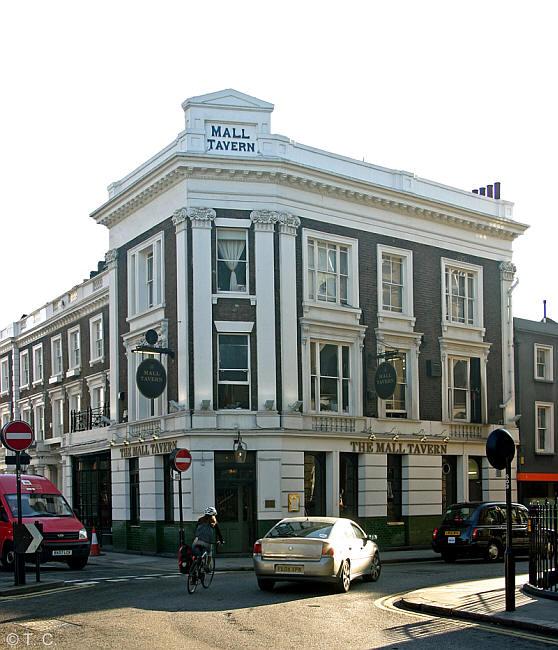 London Hotel Kensington Gardens: Mall Tavern, 73 Palace Garden Terrace W8