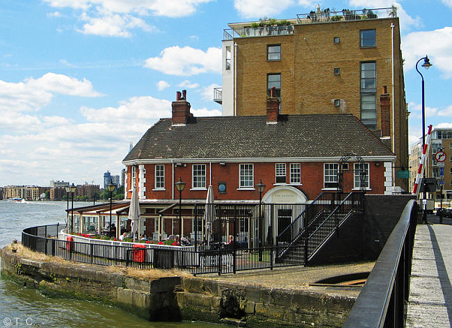 Barley Mow Public House 133 Narrow Street Limehouse