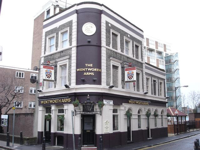 Pleasant Wentworth Arms 127 Eric Street Mile End Road Mile End E3 Short Hairstyles Gunalazisus