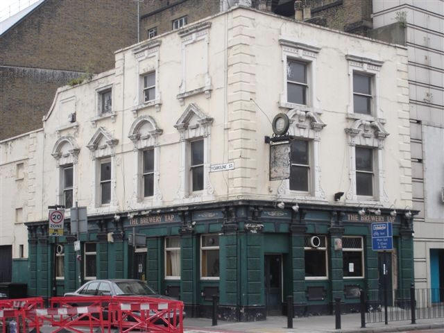 Brewery tap 500 commercial road ratcliffe a listing of historical public houses taverns - Hackett london head office ...