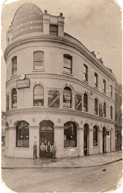 Shoreditch London: Old Blue Last, 38 Great Eastern Street EC2