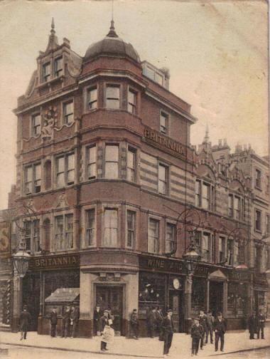 Camden Town: Britannia, 187 High Street, Camden Town NW1