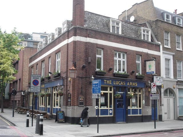 Lucas Arms 245a Grays Inn Road Wc1